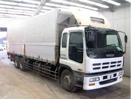 10 Wheeler Isuzu Giga Wing Van - Carry All Cargo Corp